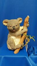 BABY KOALA BEAR SCULPTURE BY COUNTRY ARTISTS INC REALISTIC BEAUTY IN BOX W TAGS