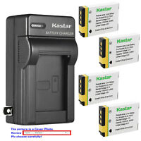 Kastar Battery Wall Charger for GE GB-40 GB40 & GE E1240 GE E850 GE H855 Camera