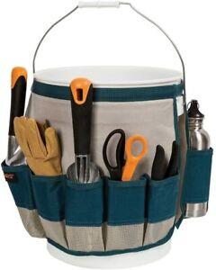 Fiskars Garden Bucket Caddy Carry & Organize Tool 5-Gallon bucket Tote Yard Work