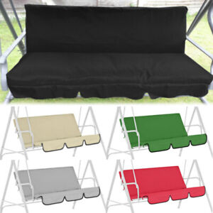 Swing Seat Cover Spare Waterproof Chair Cushions Replacement Garden 3 Seater Pad
