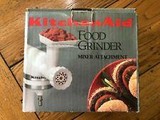 Kitchen Aid FGA Food Grinder/Sausage Stuffer for Stand Mixer - Original box, in