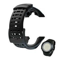 New Luxury Rubber Watch Replacement Band Strap For Suunto Ambit 3 Peak / Ambit 2
