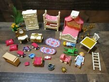 Vintage playmobile large mixed lot of doll house furniture and accessories