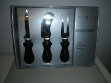 Lakeland Boxed Three Piece Cheese Knife Set - Very Good Unused Condition