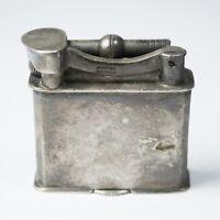 "Vintage Sterling Silver Lift Arm Pocket Cigarette Lighter Made in Mexico 1.5"" T"