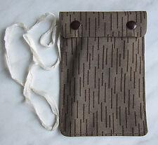 NVA Brustbeutel Militär Brusttasche mit Strichtarnmuster ein Strich-kein Strich