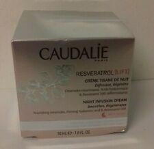 Caudalie - resveratrol - crème tisane de nuit- visage et cou - 50 ml