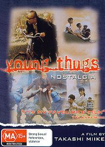 Takashi Miike's YOUNG THUGS: NOSTALGIA (JAPANESE VIOLENT DRAMA COMEDY) DVD