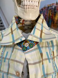 ROBERT GRAHAM Men's Long-sleeved Shirt - Size XL - Clean and Great Condition