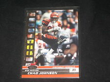CHAD JOHNSON GENUINE PACK PULLED AUTHENTIC FOOTBALL INSERT CARD RARE /199