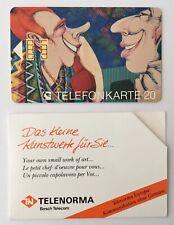 K 117 A  09.90 Telefonkarte Telenorma Bosch Kasper Pop Art oo  TOP Zustand