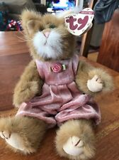 Ty The Attic Treasures Pouncer The Cat Collectible Plush Stuffed (Sd)
