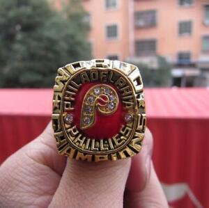1980 Philadelphia Phillies World Baseball Team Ring Fan Men Gift