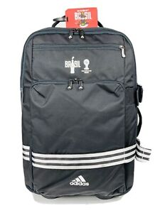 Adidas 3 Stripe Trolly Carry On Wheeled Bag Limited 2014 Brasil Fifa Cup Coke Ed
