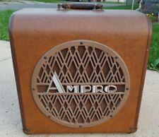 "Vintage Ampro Deluxe 12"" Speaker Amplifier for Premier 20 Projector Parts Repair"