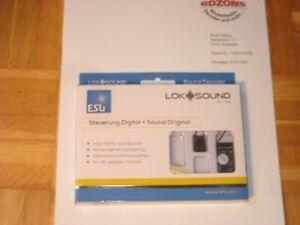 HINSCHAUEN! ESU Loksound 5.0   Decoder 58412 PluX 22