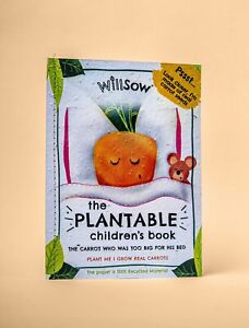 The Carrot Who Was Too Big For His Bed Plantable Book