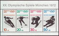 Bund Block 6  - Block , Einzelmarken ( 684 - 687 ) ,  Postfrisch ,