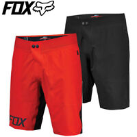 Fox Livewire Pro MTB Shorts (2016) - Black, Red - Sizes 32 34 36 38