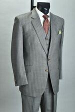 1984 Sullivan, Woolley Savile Row 3 Piece Suit w/ Sulka Tie & Braces. XBGE