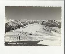 95564 mottarone campi di neve sci sciatori