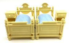 Playmobil 5321 Yellow Bedroom Beds Nightstands Victorian Dollhouse Furniture V34
