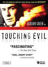 Touching Evil: Complete Robson Green UK TV Series Seasons 1 2 3 Box/DVD Set NEW!