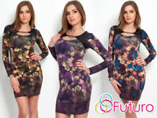 Mini Stretch Synthetic Dresses for Women