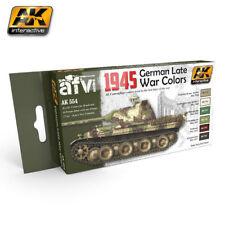AK INTERACTIVE AFV SERIES 1945 GERMAN LATE WAR COLORS SET COD.AK554