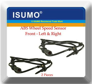 2 x ABS Wheel Speed Sensor ALS512 Front L & R Fits: Five Hundred Flex Taurus &