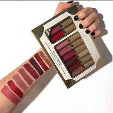 8pcs/set Pro Makeup Waterproof Liquid Lip Gloss Matte Lipstick Cosmetics