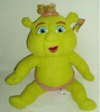 Shrek the Third Plush Baby Girl with Pink Bow, 12 inches