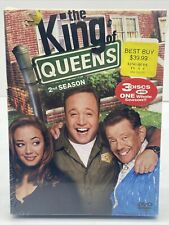 THE KING OF QUEENS~~~~3 DVD SET~~~~SEASON 2~~~~NEW SEALED!!!!
