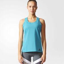 Abbigliamento sportivo da donna traspirante blu adidas