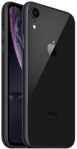 Apple iPhone XR 128GB ITALIA Nero Black LTE NUOVO Originale Smartphone iOS