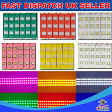 Yellow 20pcs x 3 Chip LED 5730 SMD Module Injectio Mould Waterproof DC12V 0.72W