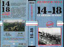 14 18 grande guerre archives exclusives ECPA Gaumont VHS
