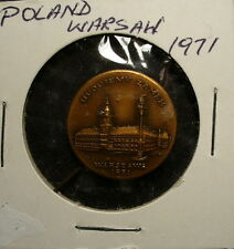 Poland Warsaw Medal Unc