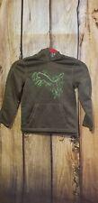 Toddler Boy Puma Hoodie Size 5 Unisex Grey Green NWOT Sport PullOver Sweater