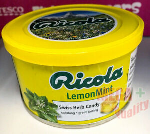 Ricola Swiss Herb Candy Lozenges Soothing Relieve Cough Sore Throat 100g