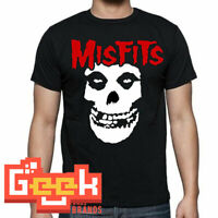 MISFITS TSHIRT - PUNK ROCK MEN's T SHIRT SMALL-5XL RED/BLACK LOGO