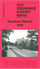 OLD ORDNANCE SURVEY MAP HORSHAM NORTH WARNHAM MILL LITTLE HAVEN THE COMMON 1932