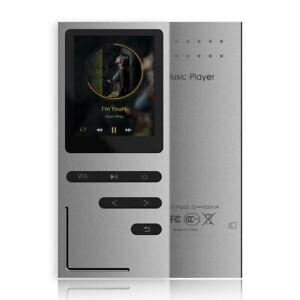 Lettore MP3 Radio FM Memoria 8GB Registrazione vocale con slot per scheda
