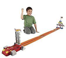 Mattel Hot Wheels Ultimate Drag Strip Super Long Trackset Race Trackset Playset