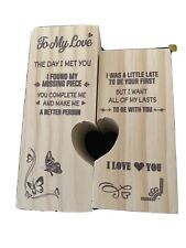 To My Love You'Re My Missing Piece - Candle Holder