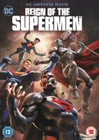 Reign of the Supermen DVD (2019) Sam Liu cert 12 ***NEW*** Fast and FREE P & P