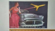 1956 OLDSMOBILE Olds - Original Color Sales Folder Brochure - Exc Condition CDN