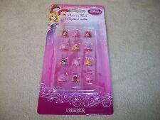 12 Disney Princess Press-On Nails: Ariel~Belle~Aurora~Rapunzel.., NEW IN PACKAGE