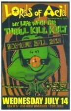 LORDS OF ACID 2010 Gig POSTER Portland Oregon Concert