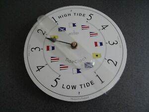 Acctim Ryde 20cm Tide Clock with Flag Face Dial Boxed